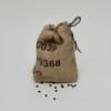 Utensilo / Säckchen aus 4teiligem Verpackungsset für Geschenke aus Kaffeesack