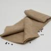 1 Bogen Stoff aus 4teiligem Verpackungsset für Geschenke aus Kaffeesack