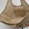 Stabiles ShoppingBag aus Kaffeesack mit rundem Griff / Innenansicht